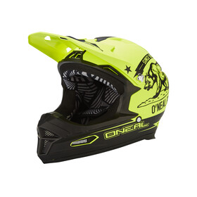 Fury RL Helmet CALIFORNIA black/neon yellow XS (53-54 cm)